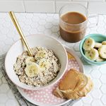 Elvis Overnight Oats (Peanut Butter + Banana!)