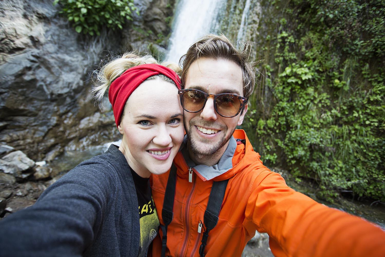 Emma and trey in big sur ca