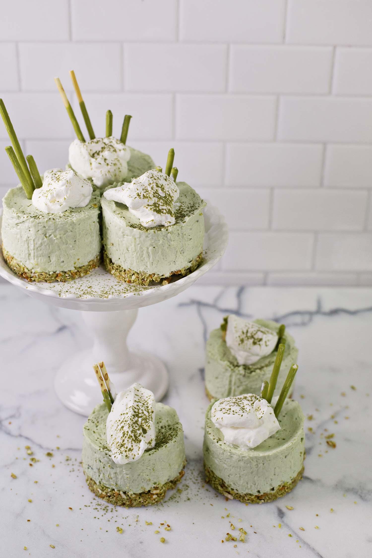 Match No Bake Cheesecakes (via abeautifulmess.com)