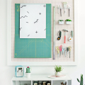 5 Ways to Make a Boring Pegboard on Fleek! - June 23, 2016