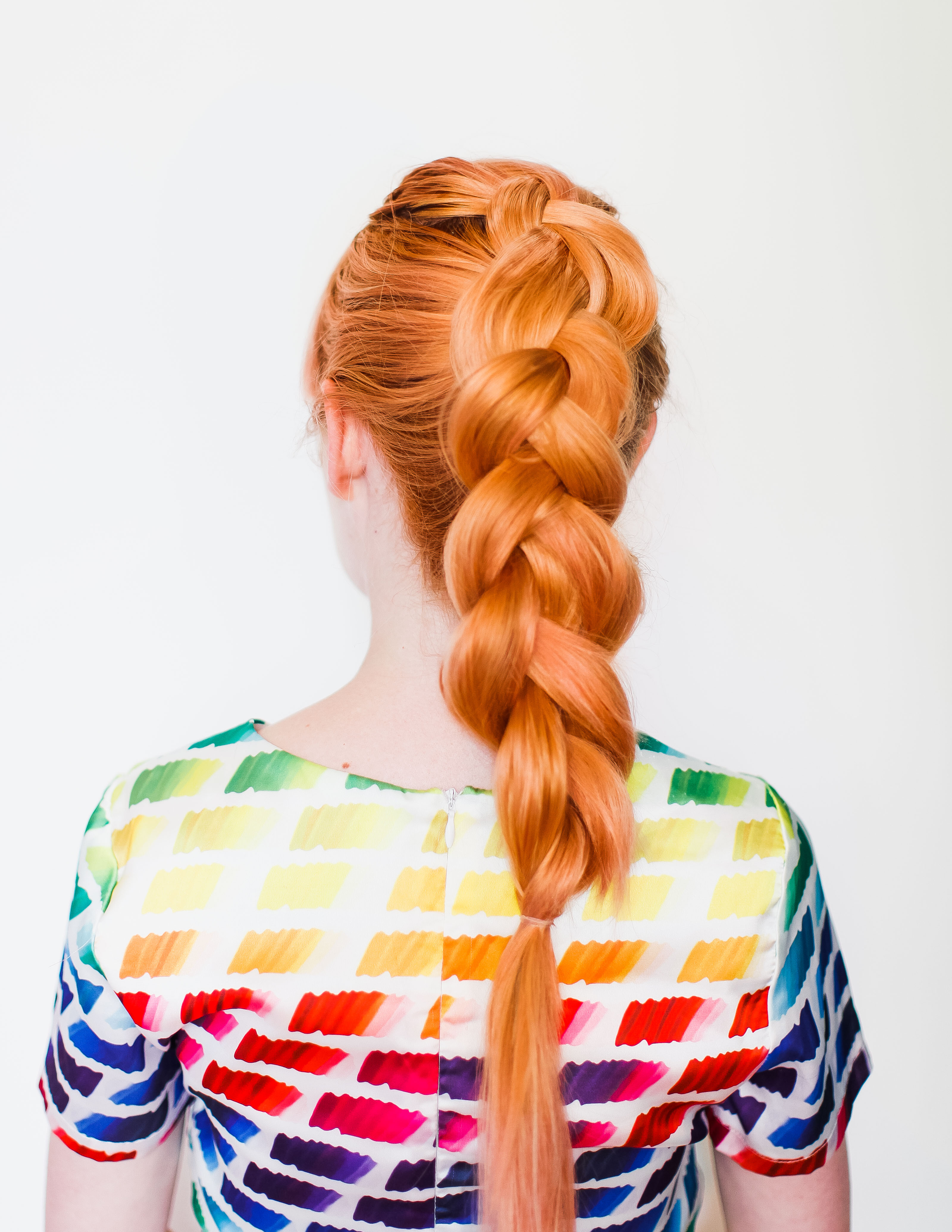 The secret to thicker-looking braids (click-through for the tutorial)