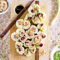 Crunchy Beet and Sprouts Sushi  - July 18, 2016