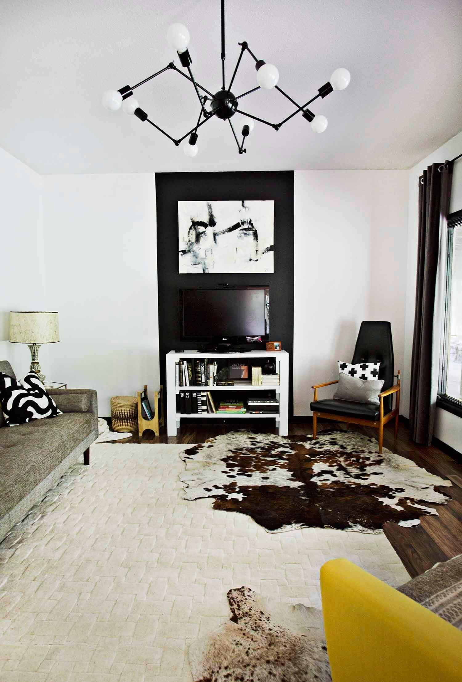 Accent walls that hide TVs