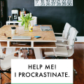 Blogging Q&A: Help me! I procrastinate.  - August 05, 2016