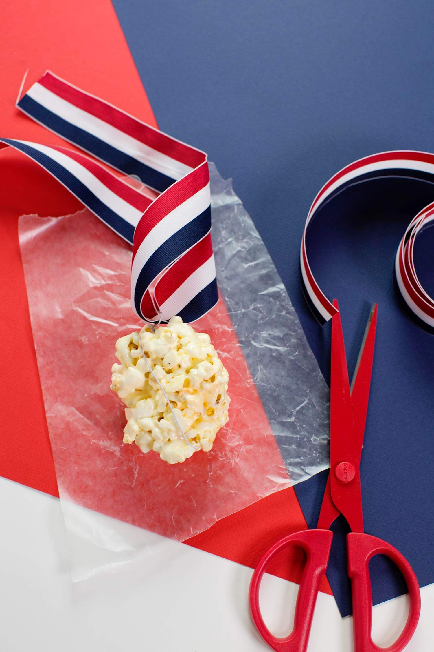 Diy olypmic medal popcorn balls