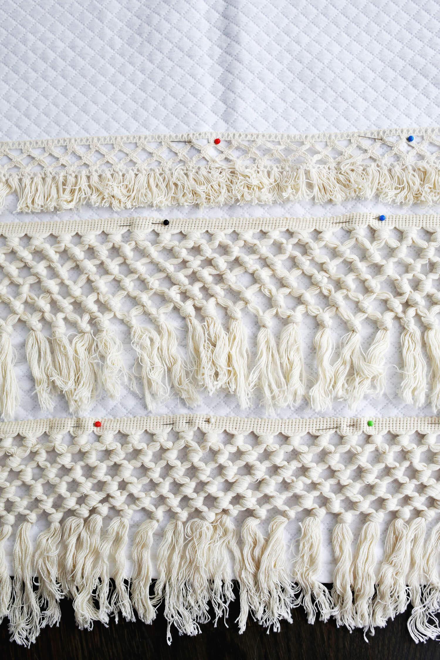 Macrame Shower Curtain DIY - A Beautiful Mess