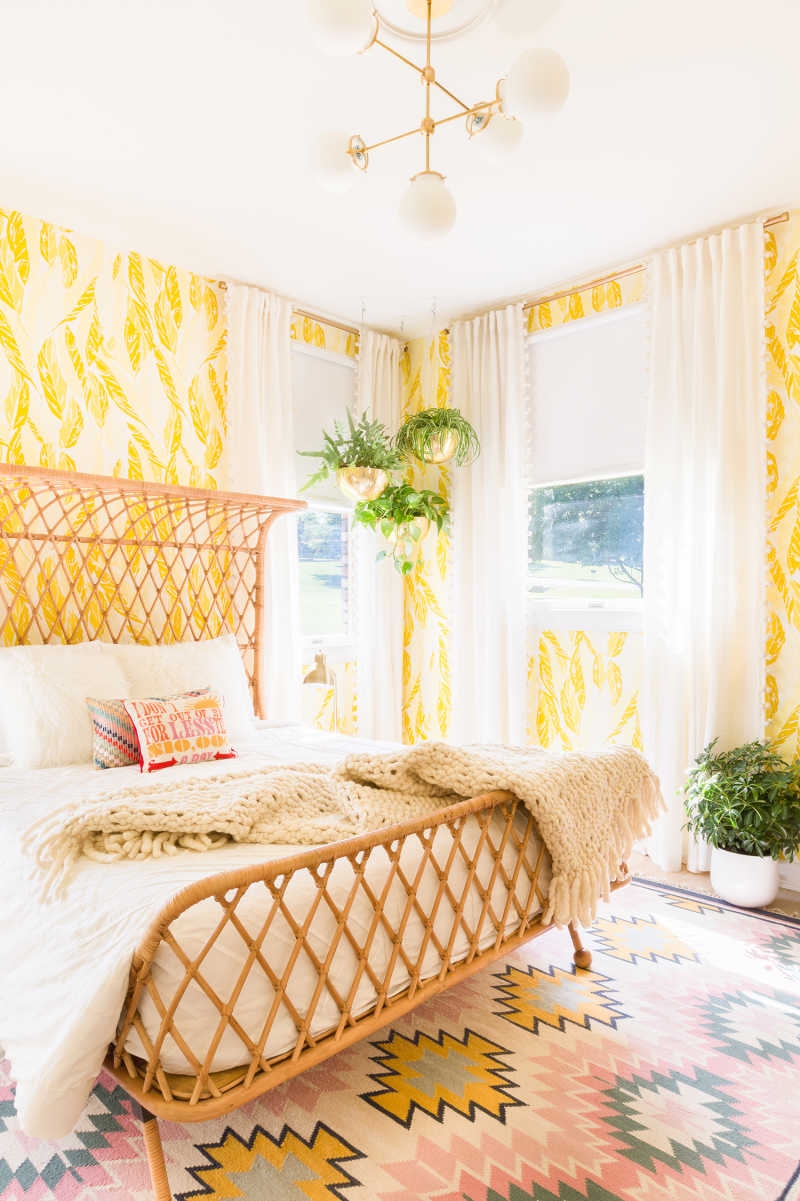 Our Sunny Guest Bedroom - A Beautiful Mess