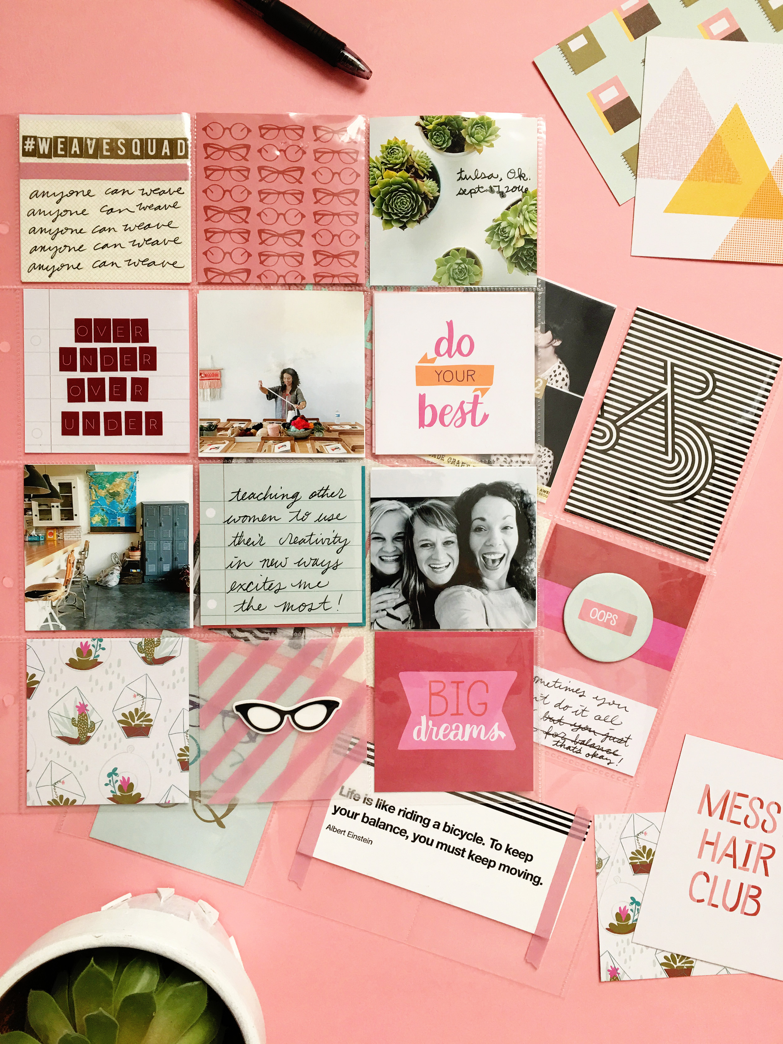 September Messy Box from A Beautiful Mess. Subscribe at www.ABeautifulMess.com