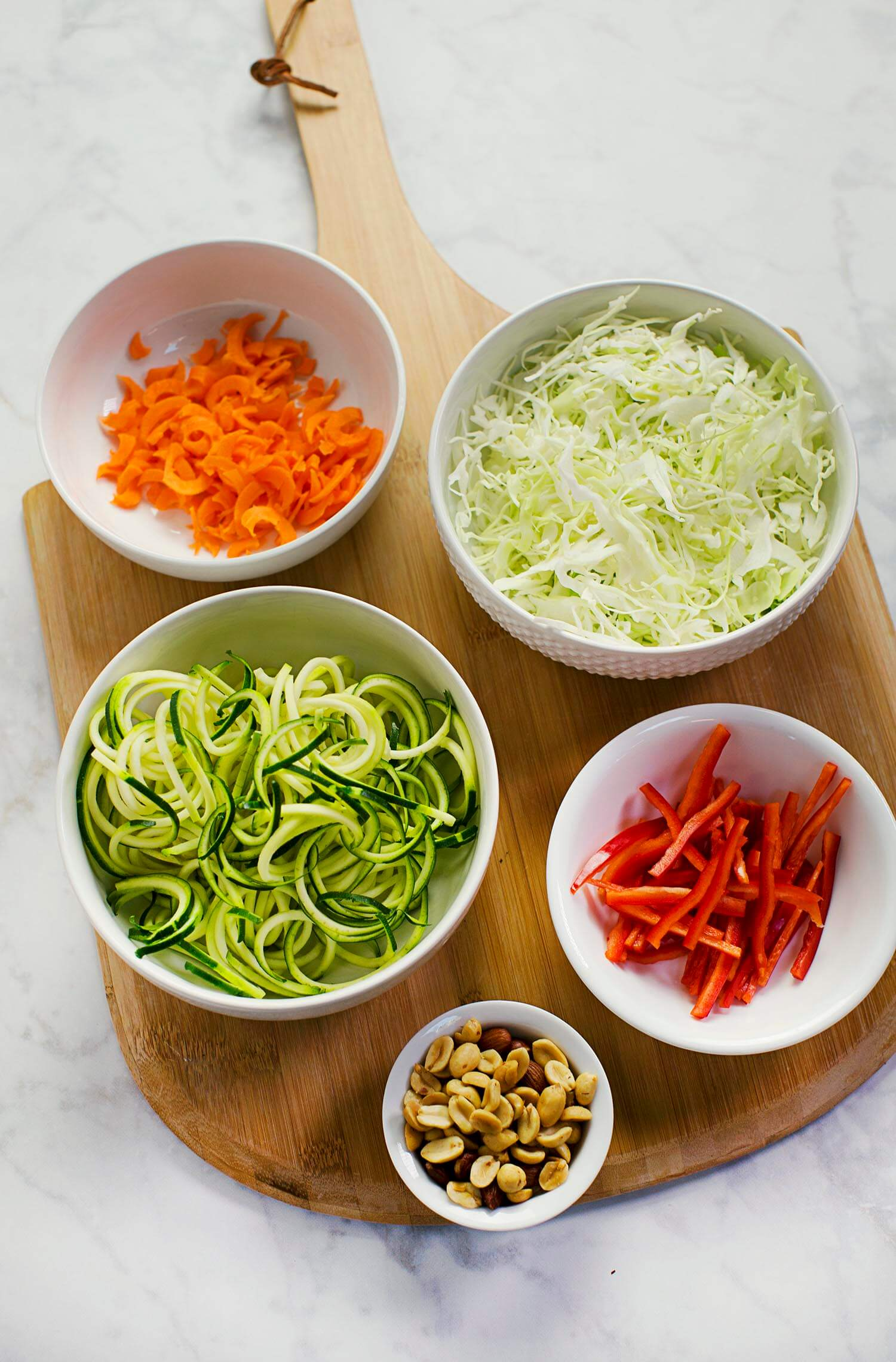 How to make raw pad thai