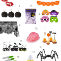 Halloween Party Shopping Guide! - October 15, 2016