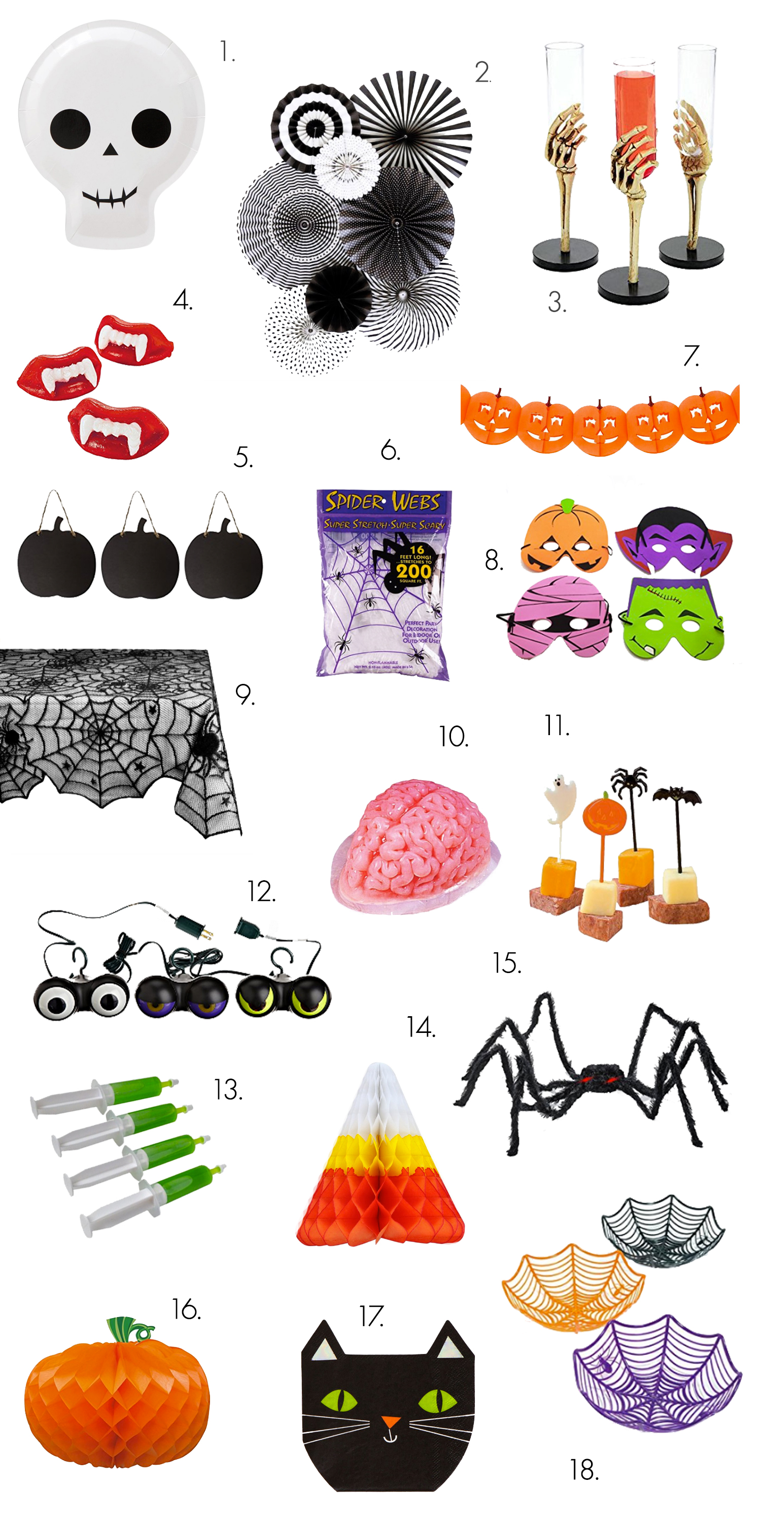 Halloween Party Shopping Guide!