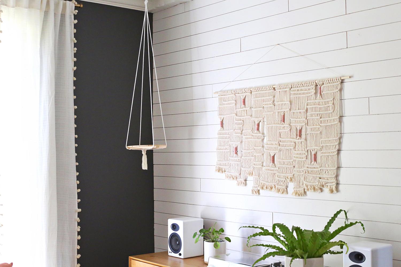 Hanging Plant Shelf DIY