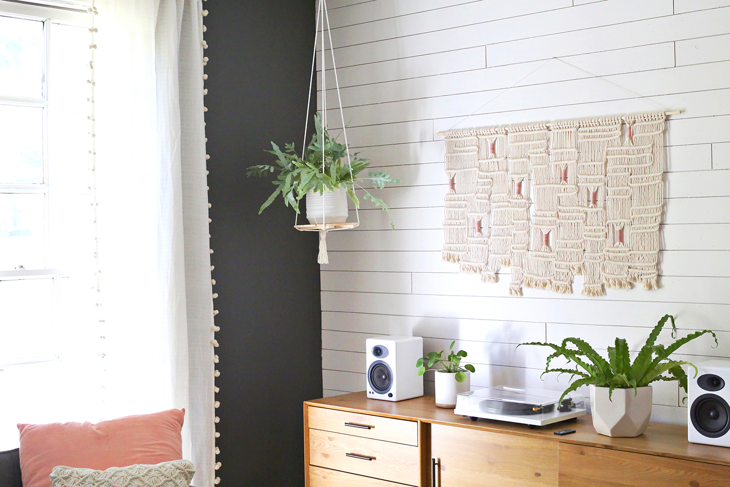 Hanging Plant Shelf DIY