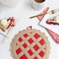 Cherry Pie Potholder DIY  - November 02, 2016