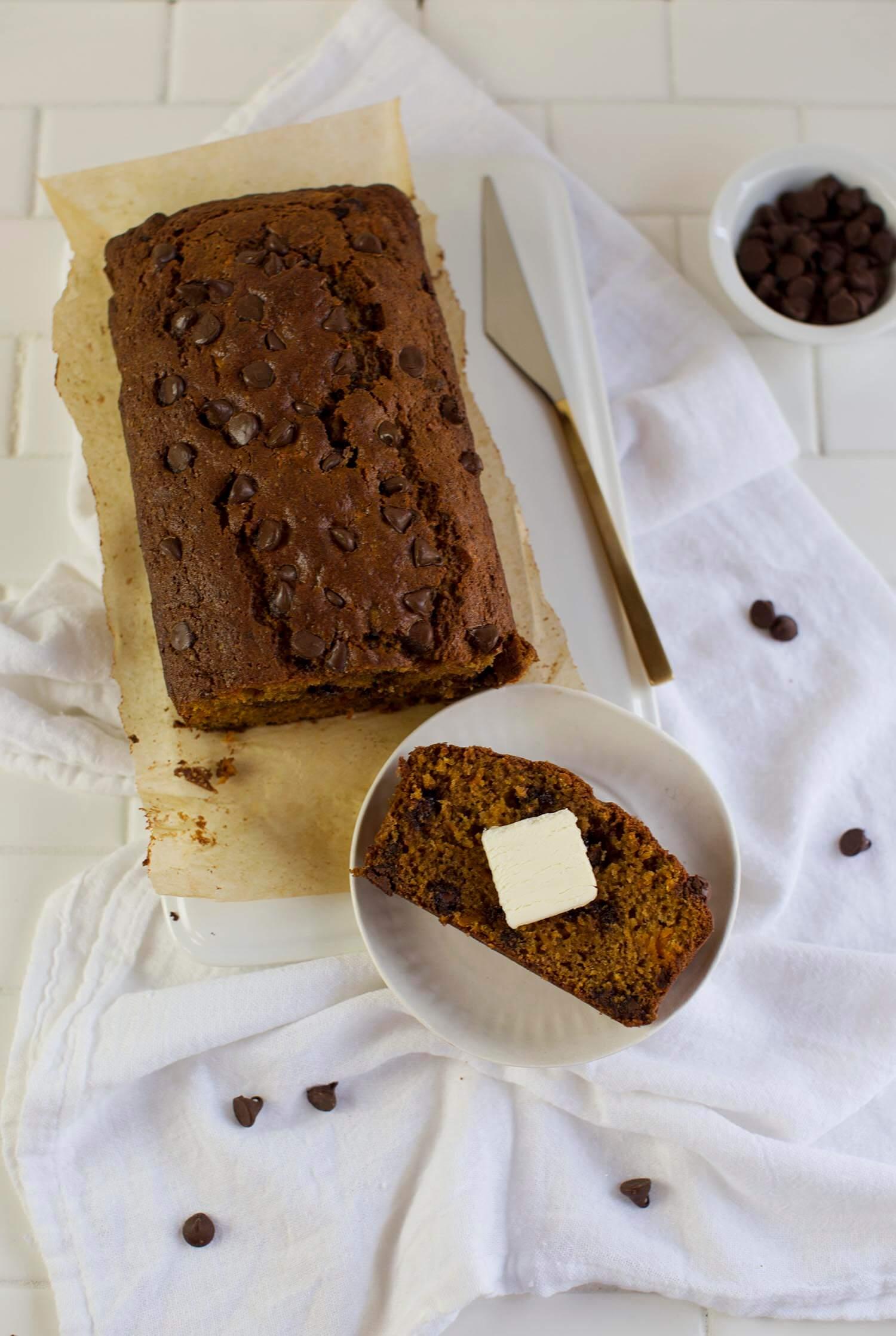 Butternut and Chocolate Bread (via abeautifulmess.com)