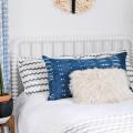 Dyeing with Indigo: Bolster Pillow DIY  - November 04, 2016