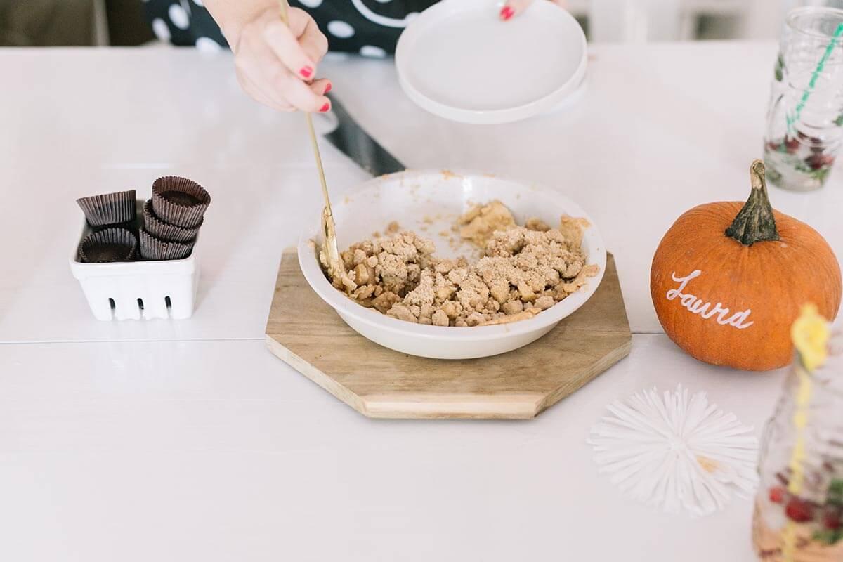 Apple and Asian Pear Crisp Pie (vegan friendly)