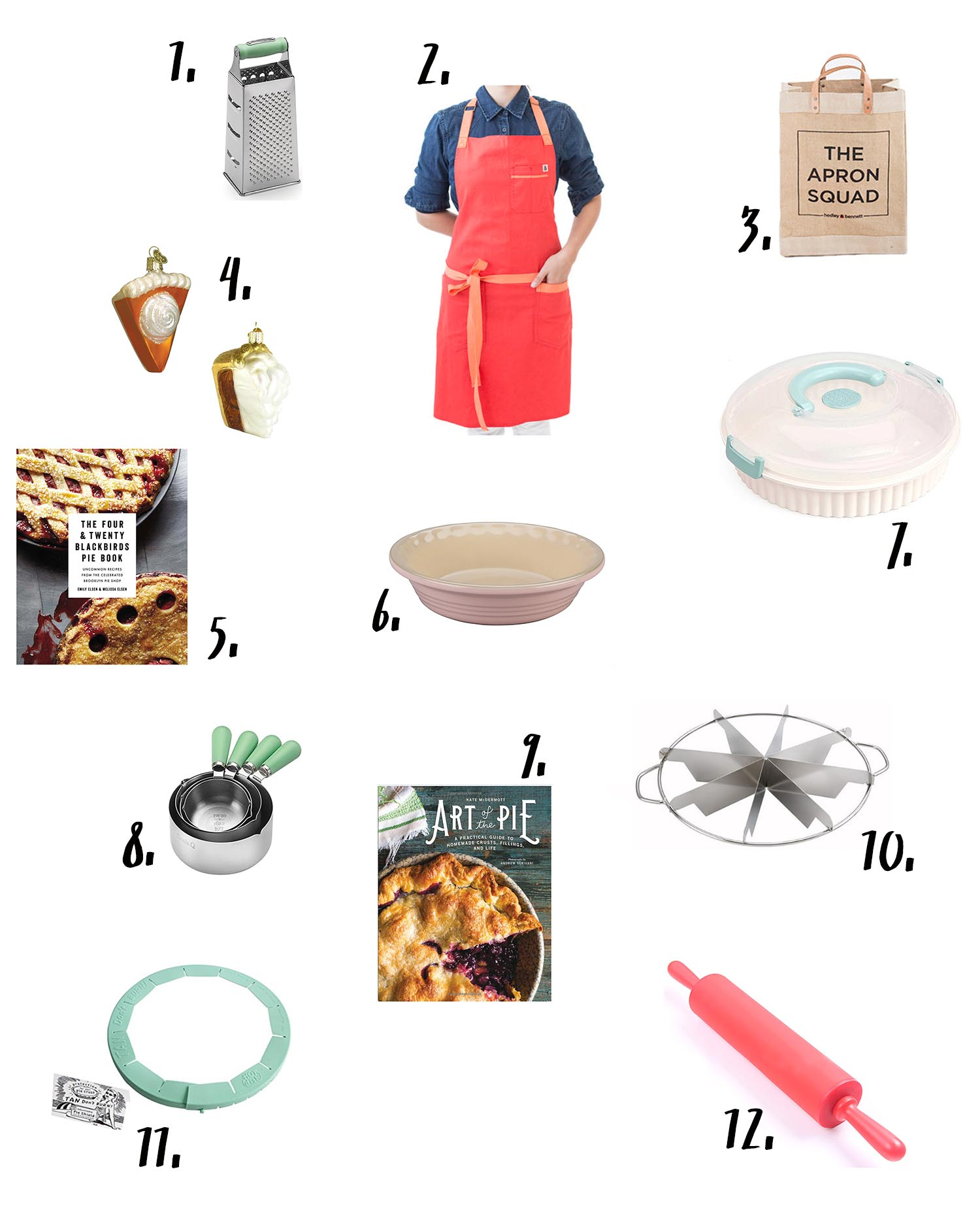 Gifts for bakers and pie lovers