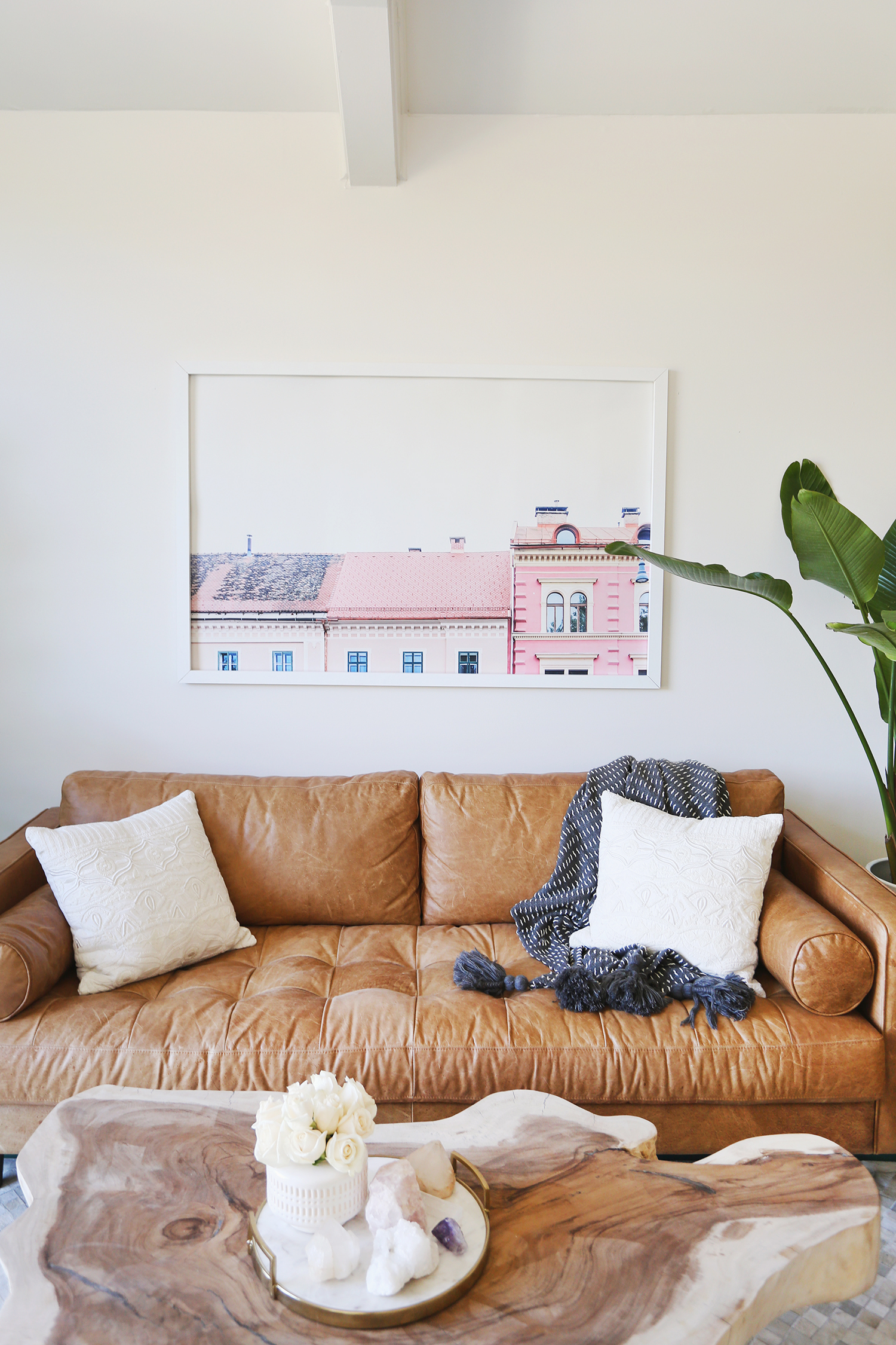 Elsie\'s Living Room Tour (Before + After) - A Beautiful Mess