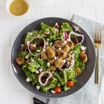 Baked Mini Falafel Salad