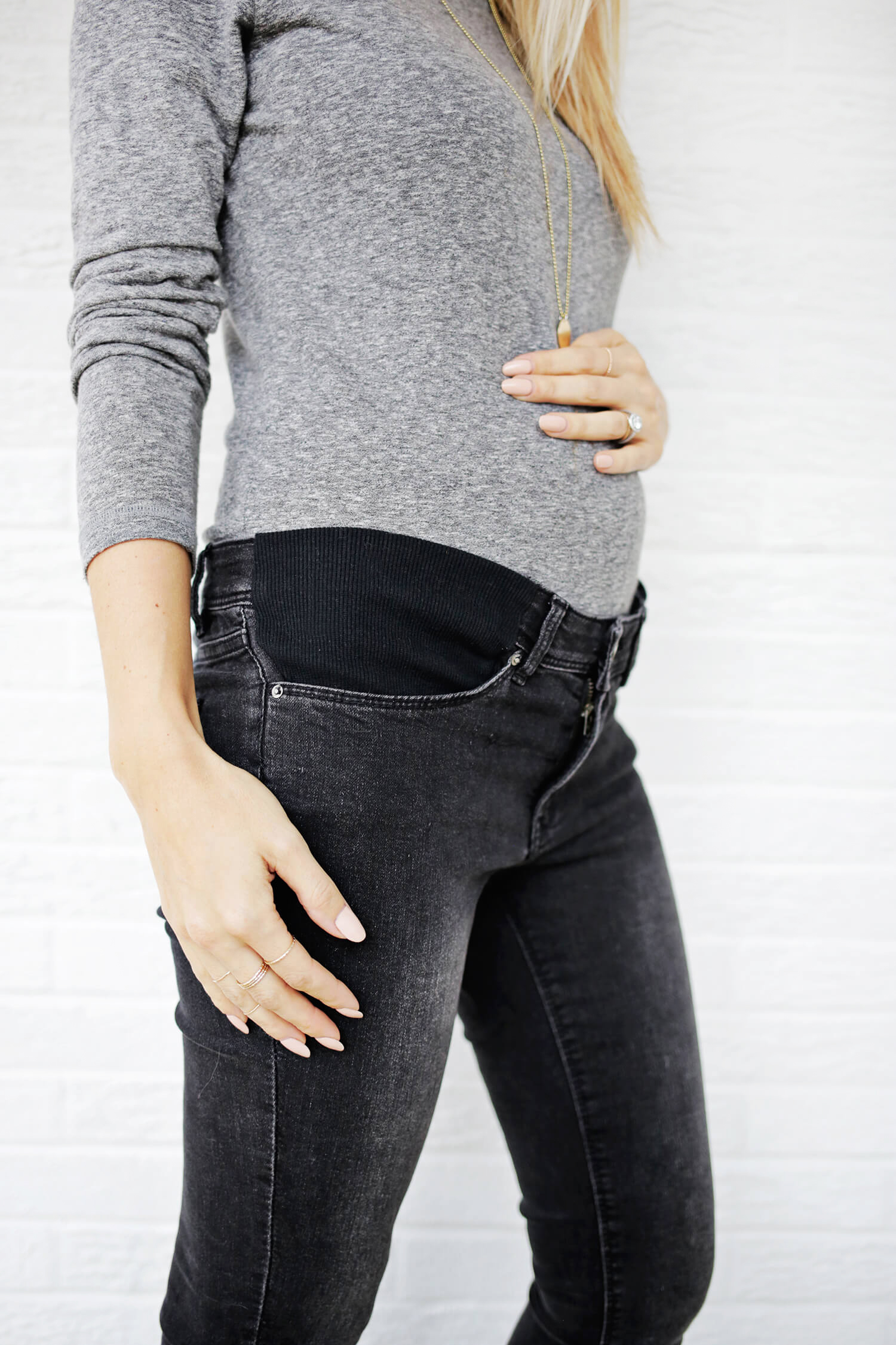 Make Your Own Maternity Jeans! – A Beautiful Mess