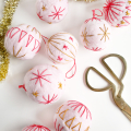 Embroidered Felt Wool Ornament DIY - December 21, 2016