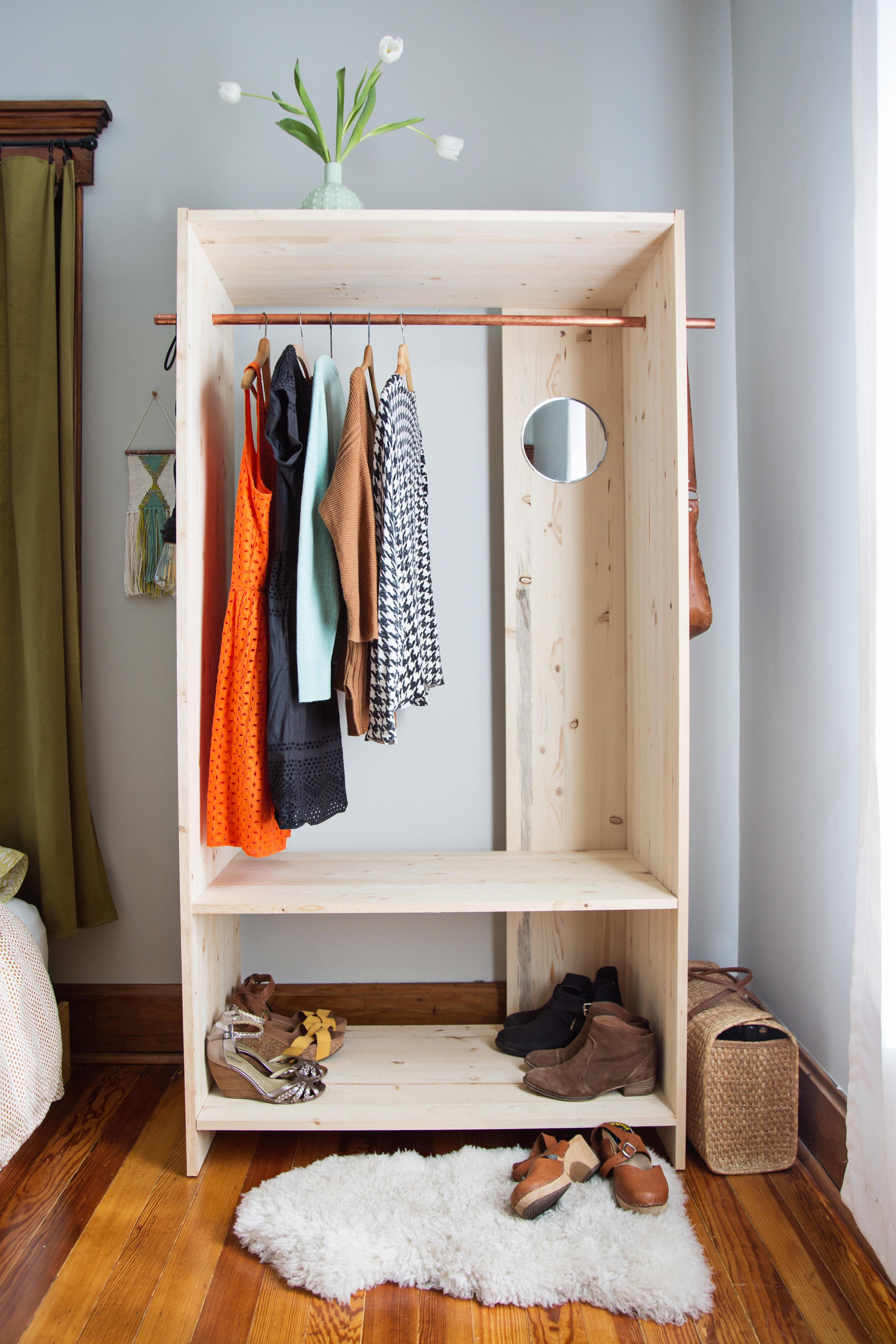 Wooden Wardrobe DIY