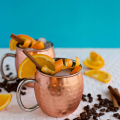 Orange and Coffee Moscow Mule  - January 19, 2017