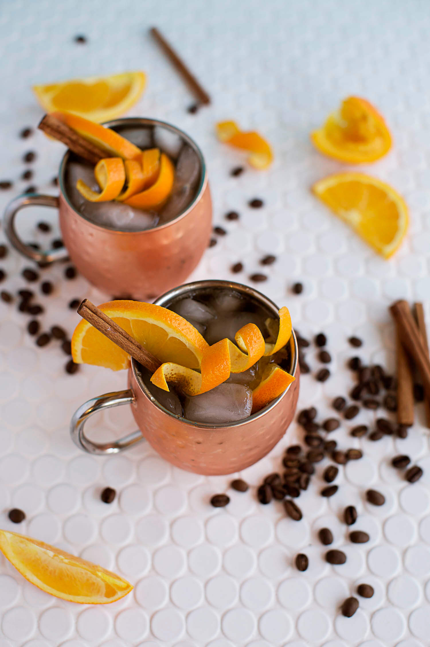 Orange and Coffee Moscow Mule