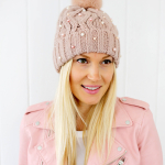 Beaded Beanie DIY