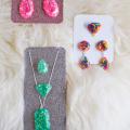DIY Epoxy Resin Jewelry  - February 13, 2017