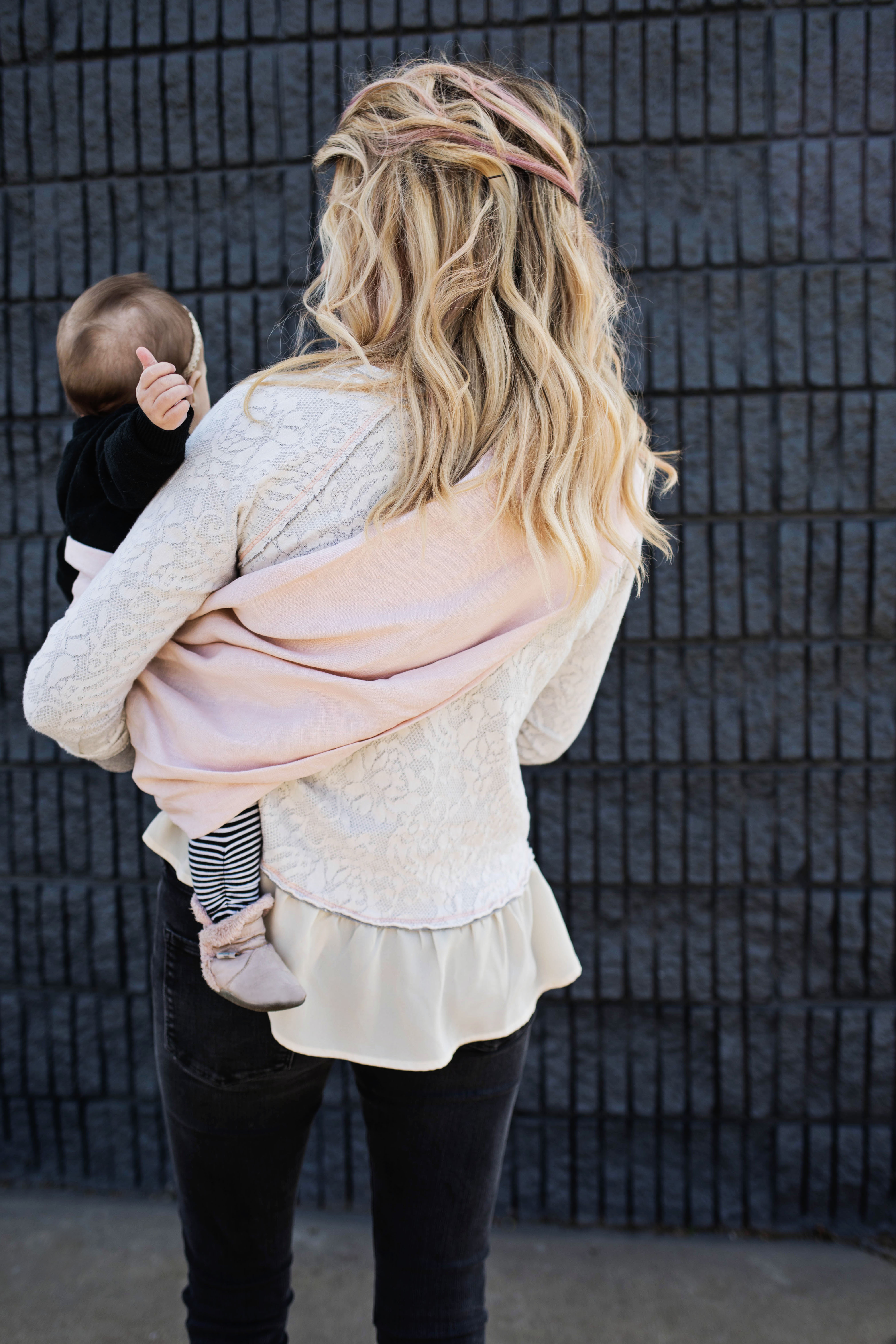 08a94f55d0e Naturally Dyed Ring Sling Baby Carrier DIY