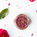 Make Your Own Flower Petal and Walnut Scrub - March 01, 2017