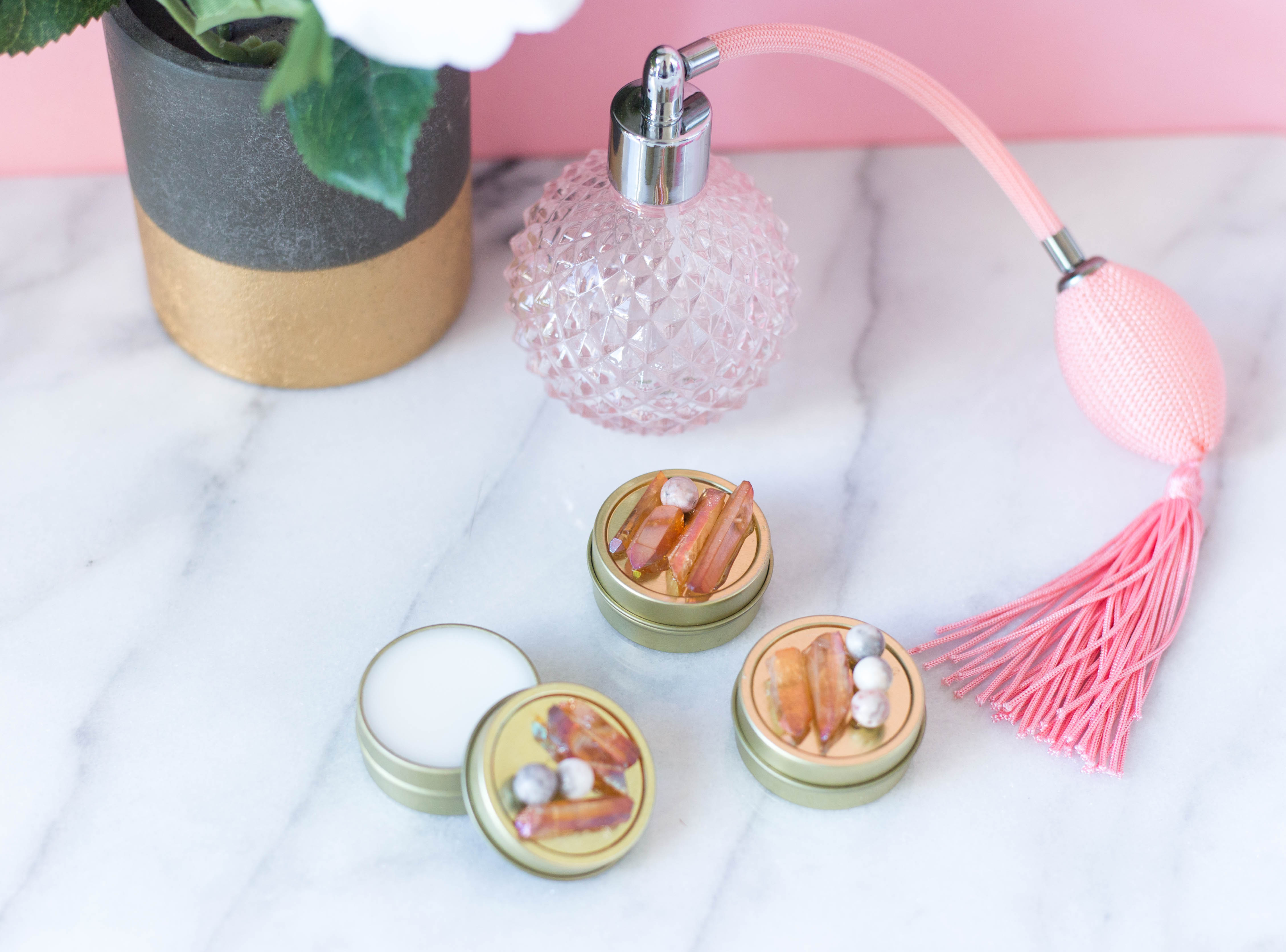 DIY Lip Balm- click through for the full tutorial!