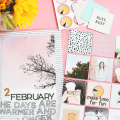 Scrapbook Sunday: February Messy Box - February 19, 2017