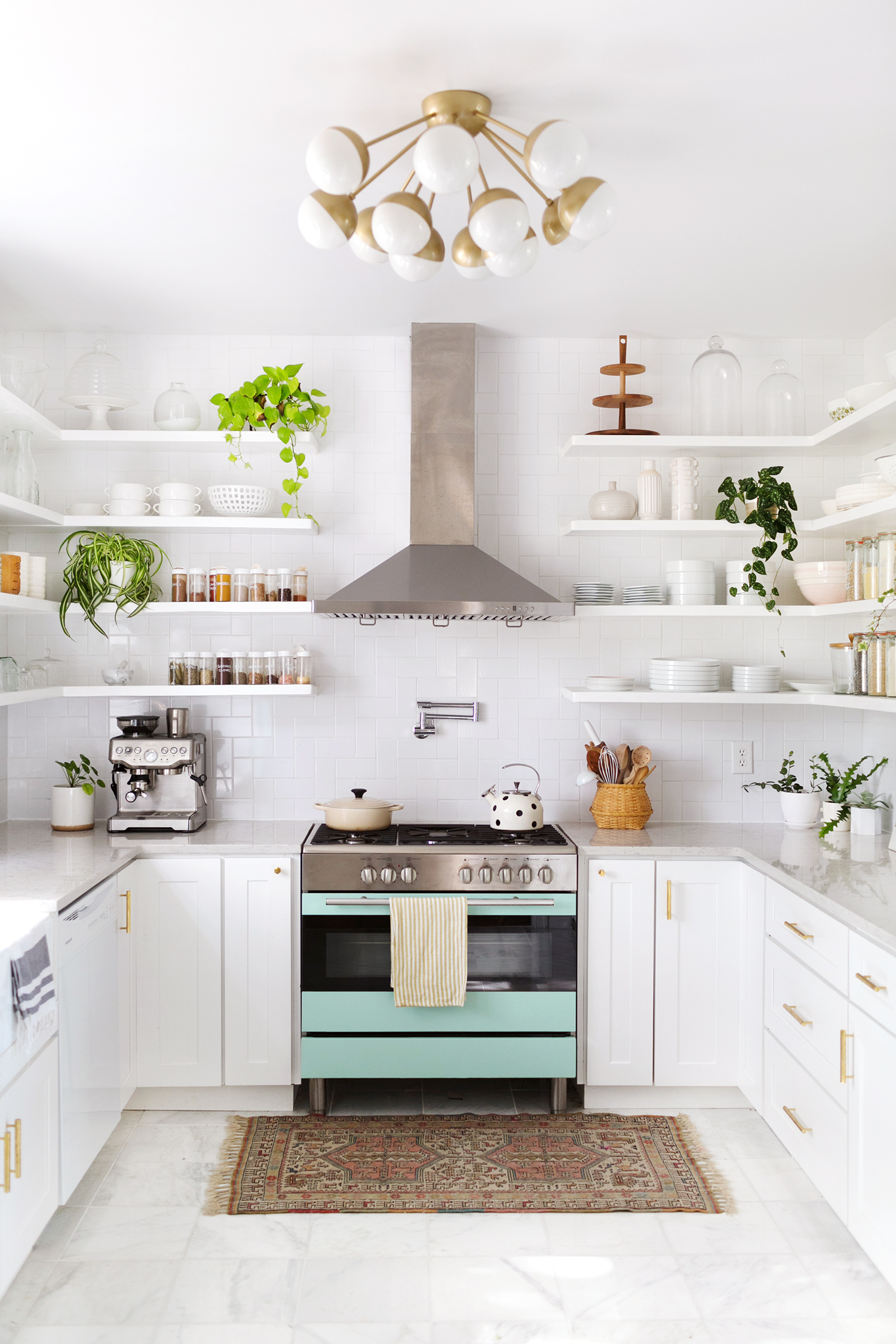 Elsie\'s Kitchen Tour (Before & After) - A Beautiful Mess