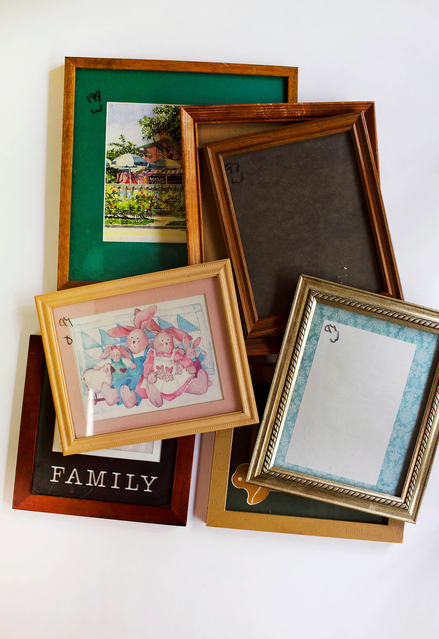 Ideas for updating a thrifted frame