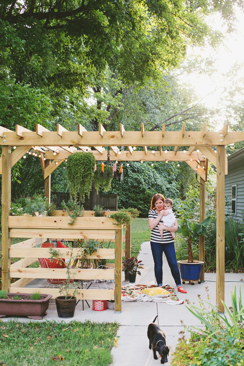 Build Your Own Pergola (Part Three - Plants and Styling ...
