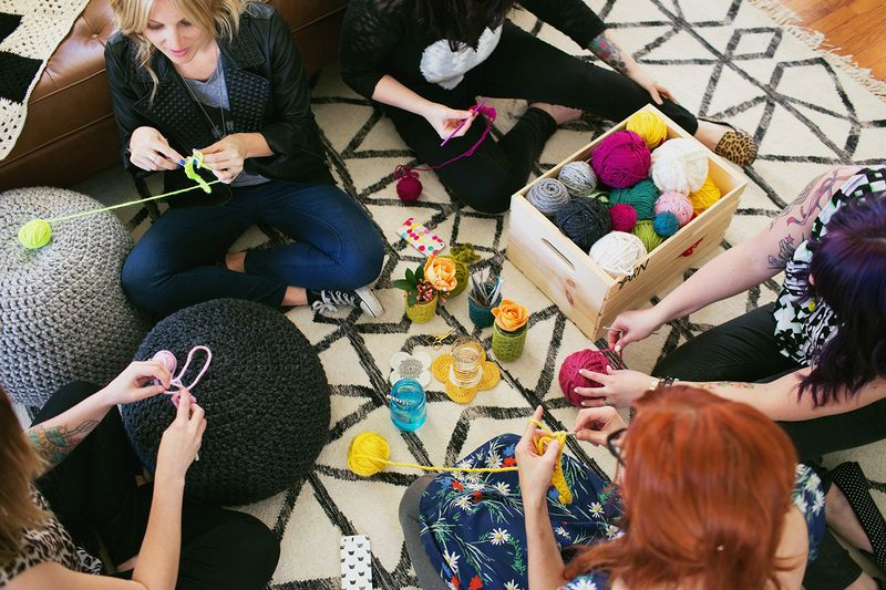 Yarn party