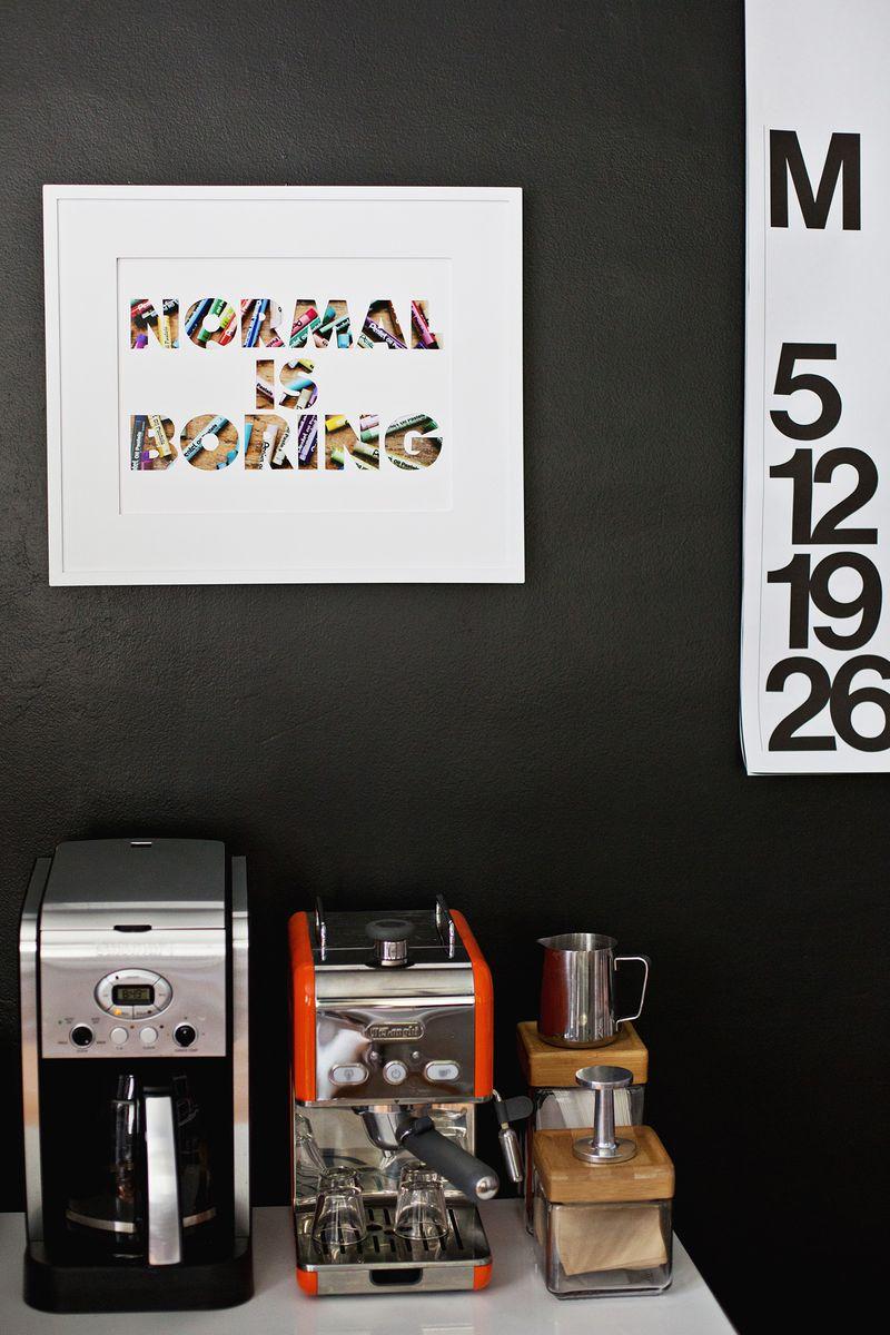 Custom phrase mat board- so cute!