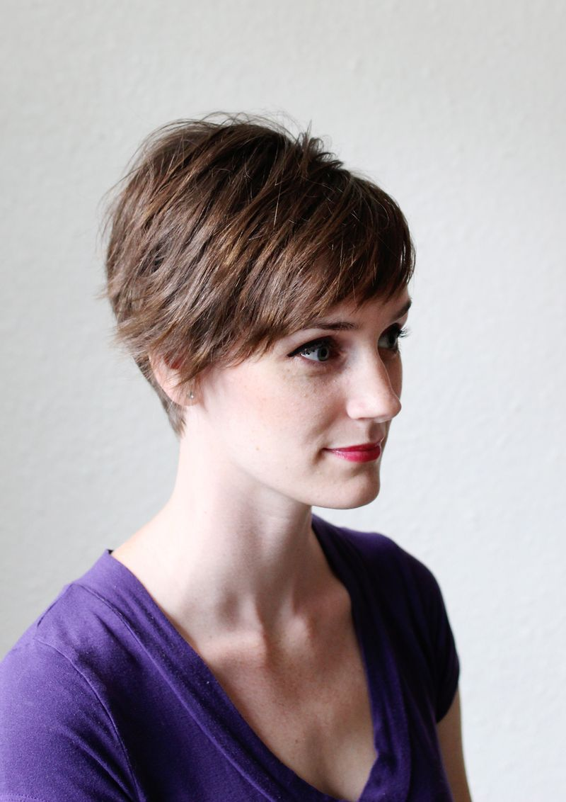 styling a pixie haircut 3 ways to style a pixie cut a beautiful mess 4151