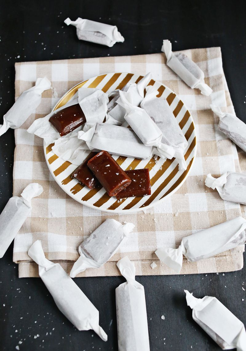 Homemade caramels (click through for recipe)