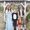 Pinocchio Themed Family Costume - October 15, 2014