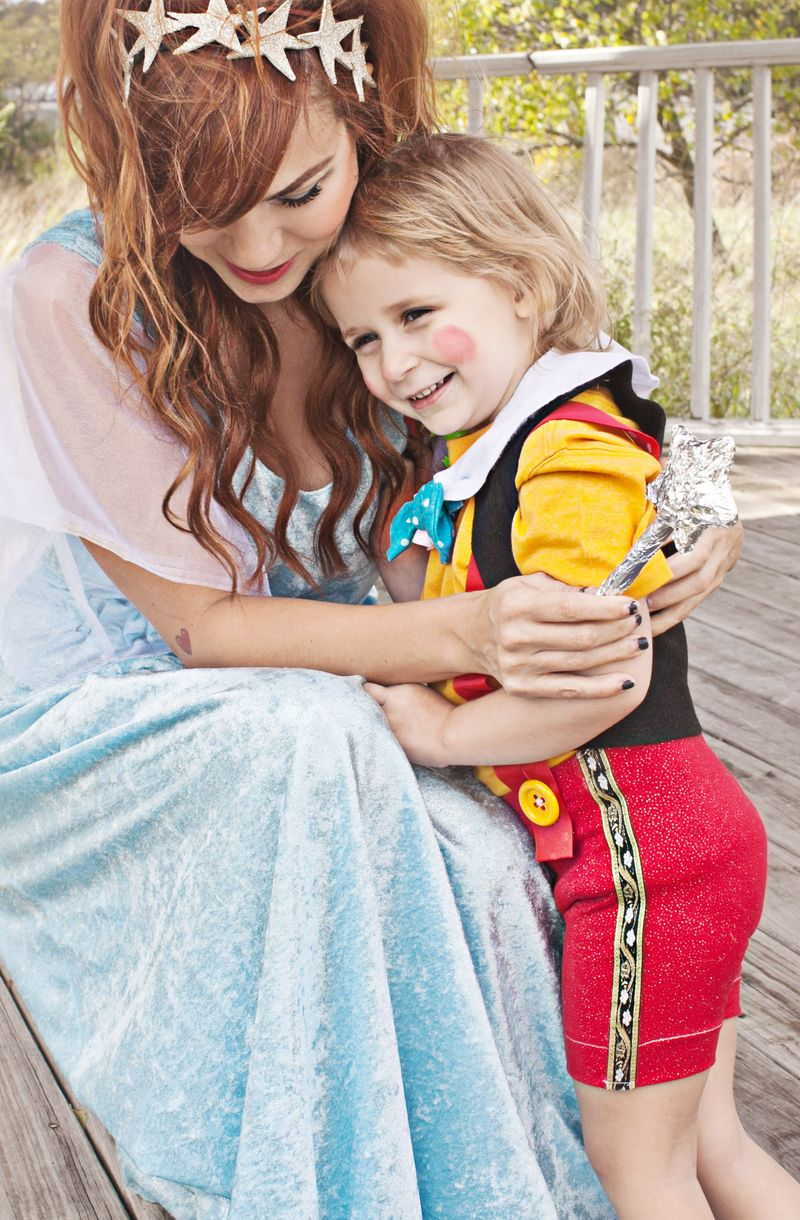 Pinocchio Themed Family Costume – A Beautiful Mess