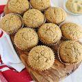 Sour Cream Pumpkin Muffins - November 05, 2014