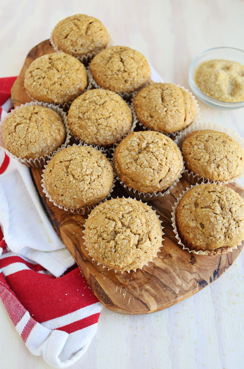 Pumpkin muffins via A Beautiful Mess