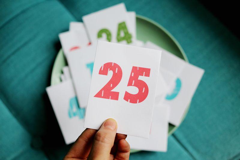 Printed numbers