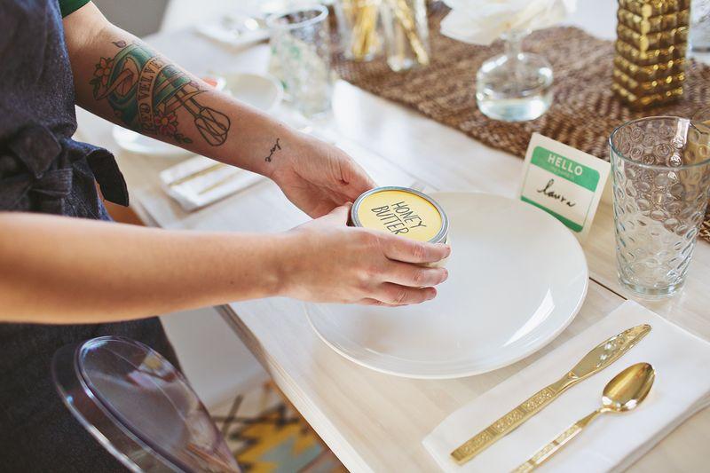Honey butter party favors