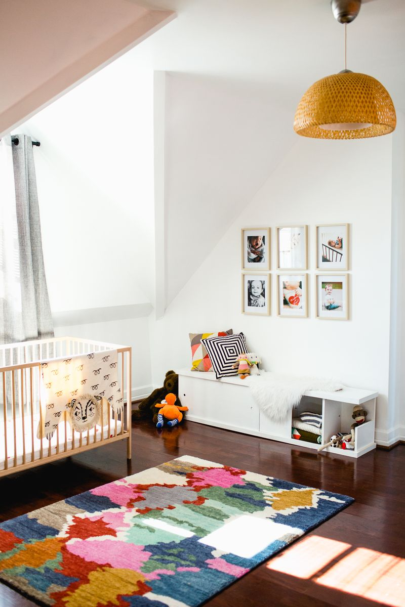 Sarah's nursery tour - click to see before and afters!