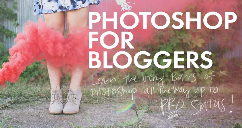 Photoshop for bloggers giveaway
